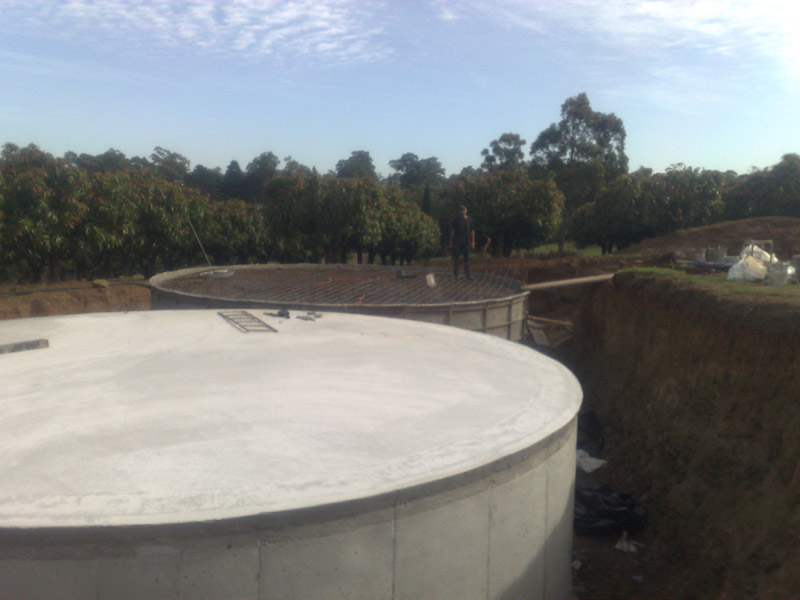 Concrete Rainwater Tanks Australia Commercial Water Tanks